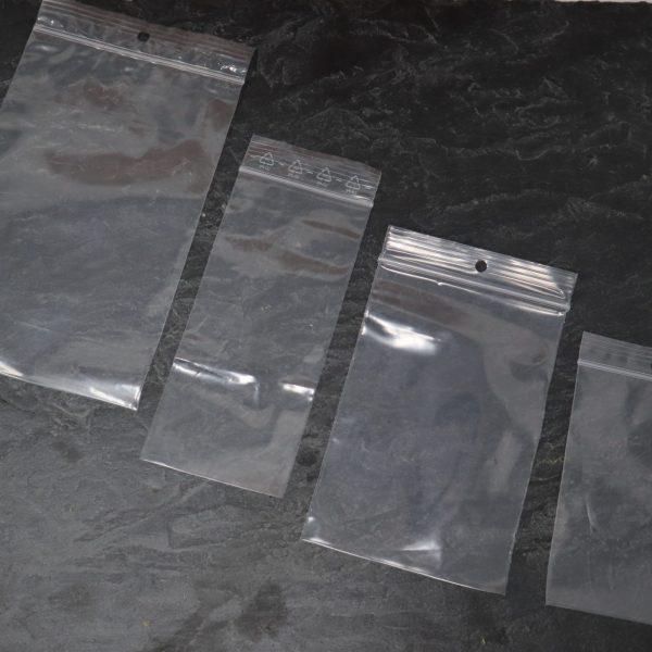 Druckverschlussbeutel in verschiedenen Größen